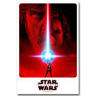 Star Wars Episode VIII The Last Jedi Movie Art Silk Poster 12x18 24x36 inch 09 $11.39 USD