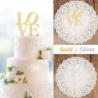 Cake Topper Happy Birthday  Love One Bride to be Glitter Party Wedding Cupcake D
