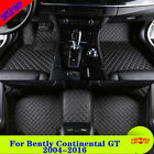 Zebra For Bently Continental GT 04-16 Auto Car Floor Mat 8 Colors Leather Z16B8