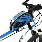 Universal Bicycle MTB Bike Cycling Frame Pannier Front Top Tube Bag Phone Holder