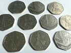 50p Fifty Pence Coins 1997-2016 - Britannia and Royal Shield - Choose Your Year