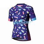 Santic New Women Cycling Jerseys Breathable Bicycle Bike Short-sleeved Shirt