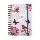 2017-2018 Academic diary mid year A5 Diary Day to a Page Spiral PVC Cover x 1