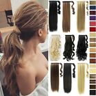 100% Natural Barbie Brown Clip In Hair Extension Curly Ponytail Extention Tde