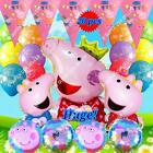PARTY SETS PEPPA PIG BALLOONS Barn Animals Decor Shower Birthday Party Supply T