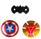 Iron Man Metal Fidget Hand Spinner ADD & ADHD Relieve EDC Finger Desk Focus Toys