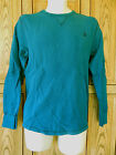 Volcom Black Stone Sapphire Blue Long Sleeve Lightweight Thermal Shirt T Box 2A