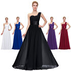 Masquerade Chiffon Ball Gowns Long Bridesmaid Party Prom Cocktail Evening Dress