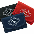 New Mens Boys WALLET Two Bare Feet TBF TriFold Canvas Credit/Debit Card Change
