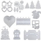 USA Metal Cutting Dies Stencil DIY Scrapbooking Embossing Album Paper Card Craft