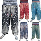 Thai Hmong Harem Trousers - Boho Festival Hippy Yoga Pants Cotton Ali Baba