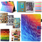 Smart Magnetic Leather Stand Card Holder Case Cover For Ipad Mini/air/9.7'' 2017