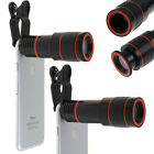 Universal 12X Zoom Telephoto Phone Camera Telescope Lens for iPhone Samsung Sony