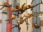 Lovely Wooden Sass & Belle British Wildlife Wooden Bird Keyrings. Four Designs