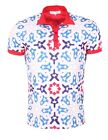 French Kick homme - Polo manches courtes Blanc French Kick American