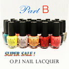 PART B Authentic 100 Genuine O.P.I Nail Lacquer Polish OPI Collection Top Coat