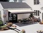 SunSetter Motorized Retractable Awning, 12 x 10 ft. Outdoor Deck & Patio Awnings