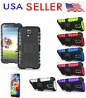 Hybrid Black protective Silicone case+ PC hard cover For Samsung Galaxy S5 I9600