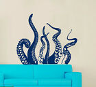 Tentacles Decal Marine Decor Octopus Wall Decal Vinyl Decal