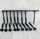 """Yuzet 6"""" Weed Control Fabric Securing Pegs Ground Cover Fixing Anchor Membrane"""