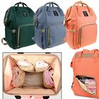 Multifunctional Mummy Maternity Backpack Nappy Bag Large Capacity Diaper Bag
