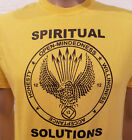 Narcotics Anonymous - Spiritual Solutions - T-shirt -Yellow  S- 3X 100% Cotton