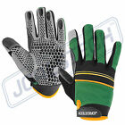 Graps Work Gloves Silicone-Infused Palms Safety Box Handler Sport New PPE