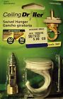 Swivel Hanger by Ceiling Driller ~ Various Finishes ~ SWL 40/40 lbs.