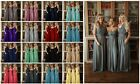 Multi Way Infinity Multi Wear Chiffon Convertible Bridesmaid Dress Prom Long Lot