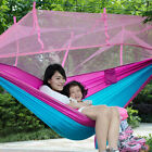 2 Person Travel Outdoor Camping Tent Hanging Hammocks Bed With Mosquito Net USA