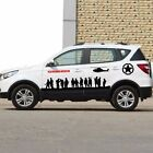 1Set Car Truck Army brothers Graphics Side Decal Body vinyl Sticker Vehicle Wrap