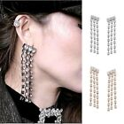 New Women Crystal Earrings Claw chain Women Party Holiday Jewelry Claw chain