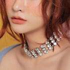 New Fashion Crystral Alloy Choker Chain  Necklace Women wedding Party Jewelry