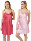Ladies ex BHS Chemise / Strappy Nightdress [2 pack]. RRP £16.00.