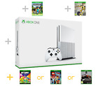 Xbox One S Bundle 1tb or 500gb 3 Game Bundle Fifa 17 and Minecraft New Sealed