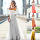 Womens Long Skirt Ladies Summer Party Beach Hippy Boho Chiffon Bohemia Loose