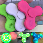 LED Fidget Spinner with Bluetooth Speaker Hand Spinner Toy EDC Kids Alduts