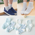 5Pair 100% Cotton Baby Sock Newborns Candy Kids Children Socks For 1-3 Years Old