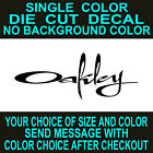 windows script - Oakley Script Die Cut Vinyl Decal Car Truck Window Laptop  Sticker