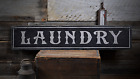 Laundry, Laundry Room, Laundry - Rustic Distressed Wood Sign ENS1000904
