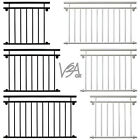 Juliet Balcony Railing Window Balustrades Handrail 3 Sizes Black White V2Aox