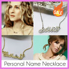 Name Necklace - Personalised - Gold / Silver Tone - Your Name - Summer Style