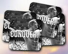 Fitness Quote // Motivation, Arnold, Conquer, Weight Lifting // Coaster [NEW!] 2