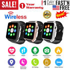 Wireless Smart Watch w/ Camera Waterproof Phone Mate for Android Samsung iPhone