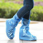 Waterproof Boots Covers Cycling High-Top Unisex Rain-Proof Skidproof Shoe Covers