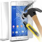 100% Tough Tempered Glass Film Screen Protector for Sony Xperia Z3