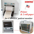 Thermal Printer+Recorder Paper For CONTEC CMS8000 Vital Signs Patient Montor USA