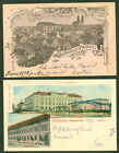 HUNGARY 1899/1901, Two diff Udvozlet Paparol postcards, used, VF