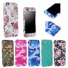 Camouflage Shockproof Hard PC Back Full Cover Case Skin for iPhone 6 6s 7 Plus 5