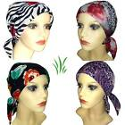 Special Headwear for chemo hair loss. Head Scarf with enclosed light padding